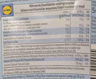 Soya classic - Nutrition facts - en