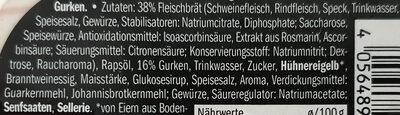 Fleischsalat - Zutaten - de