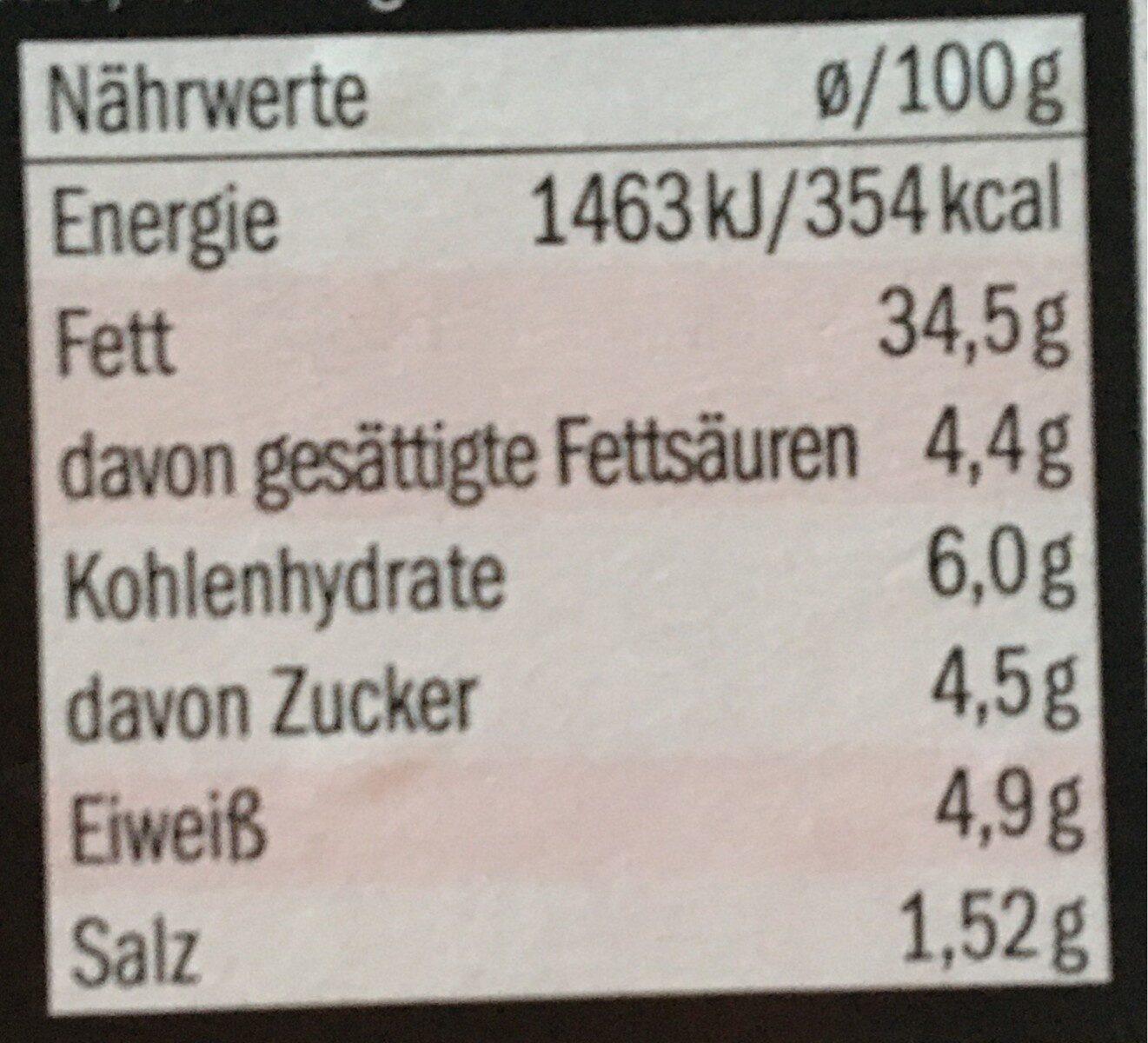 Fleischsalat - Nährwertangaben - de