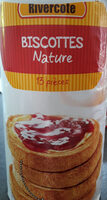 Biscottes nature - Product - fr