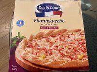 Flammkuchen mit Gemüse und Emmentaler - Product - en