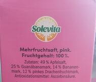 pink smoothie - Zutaten - de
