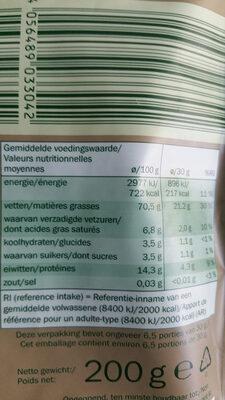 Italian hazelnuts - Voedingswaarden - fr