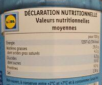 Morceaux de filets de harengs - Informations nutritionnelles - fr