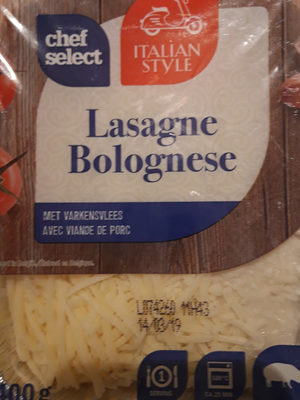 Lasagne bolognese - Product - nl