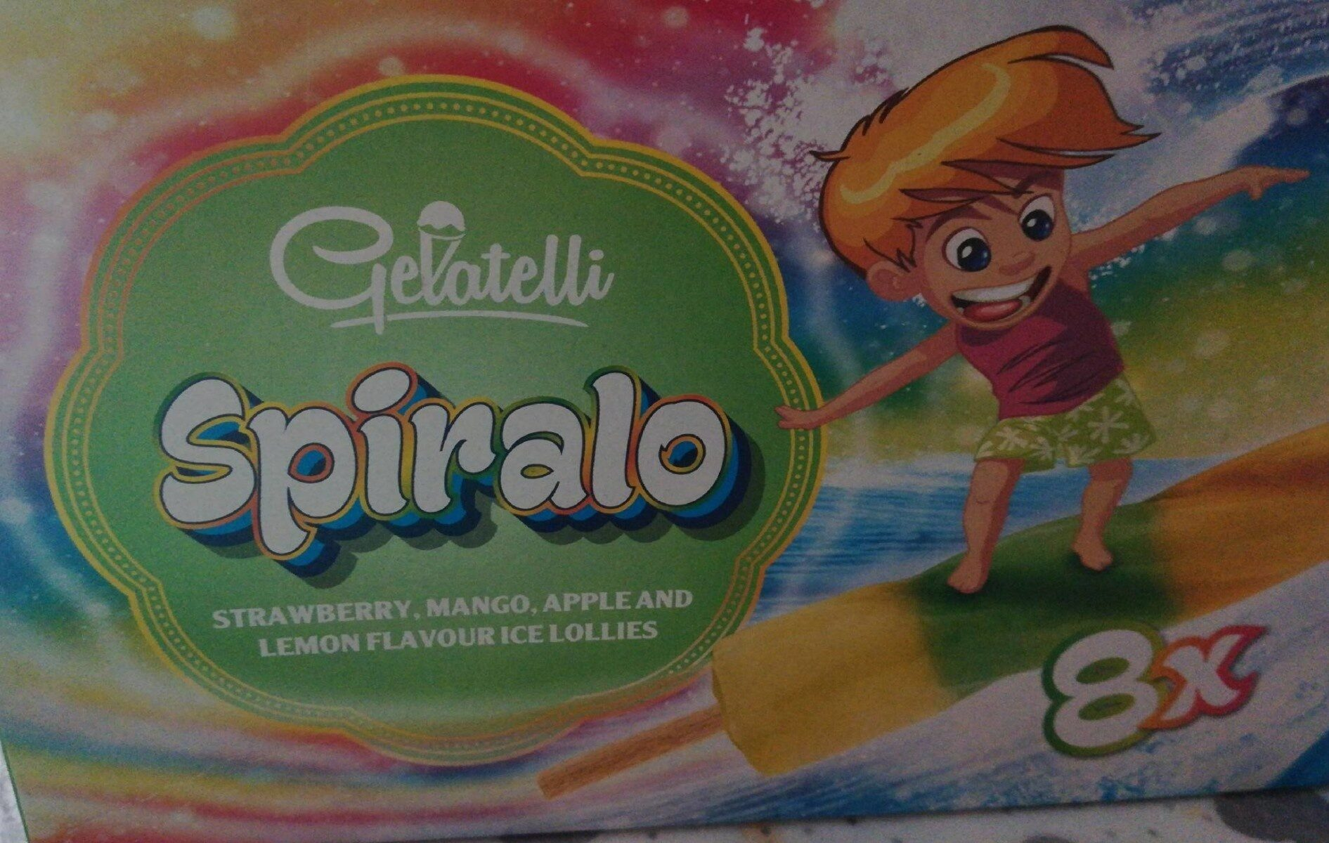 Gelatelli Spirallo - Product