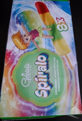 Gelatelli Spirallo - Voedigswaarden