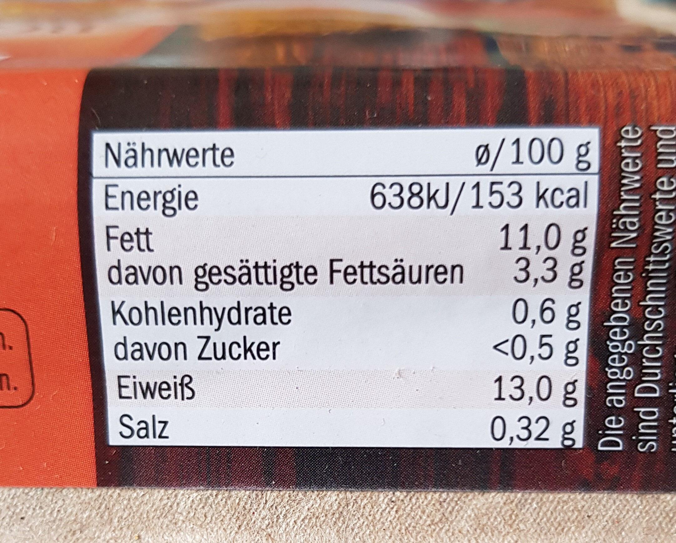 Frische Eier aus Bodenhaltung - Nutrition facts - de