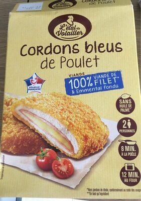Cordons bleus de poulet - Product - fr