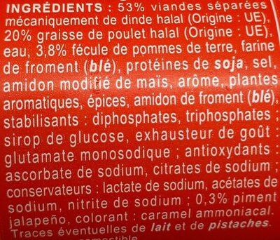 Cashir goût boeuf piquant - Ingrédients - fr