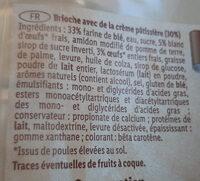 Chinois crème patissière - Ingrédients - fr