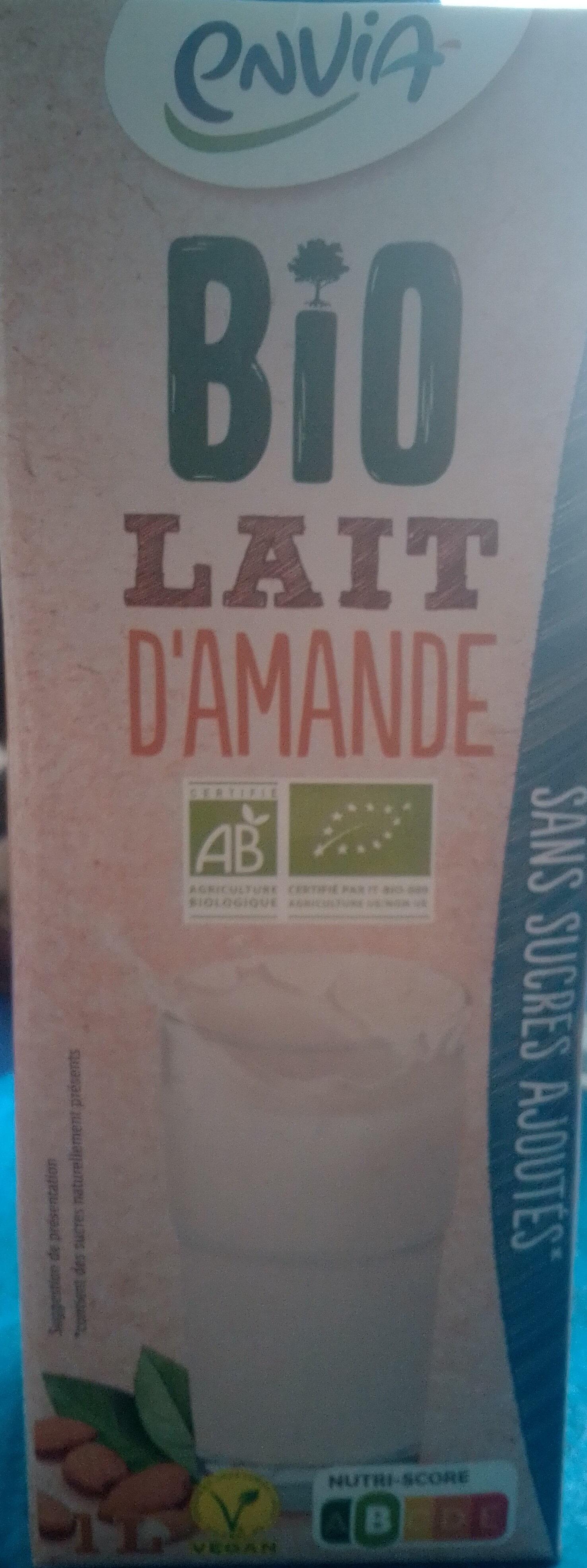 Bio Organic Almond Drink - Produit - fr