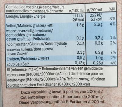 Mandel Milch - Nutrition facts - en