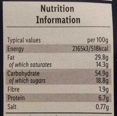 Le Sfoglie - Nutrition facts - en