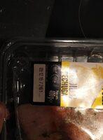 Pechuga Pollo al ajillo - Información nutricional
