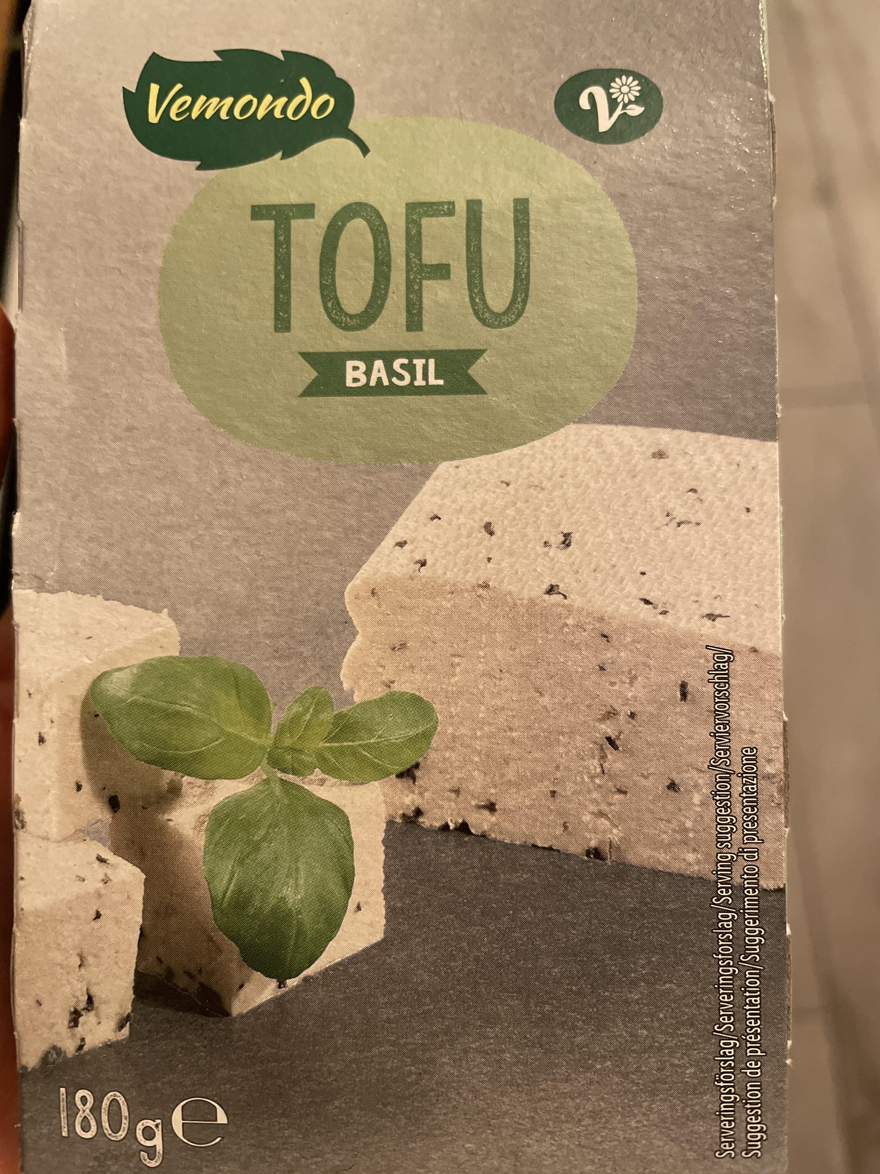 Tofu s bazalkou - Produit - fr