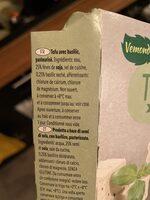 Tofu s bazalkou - Ingredienti - it