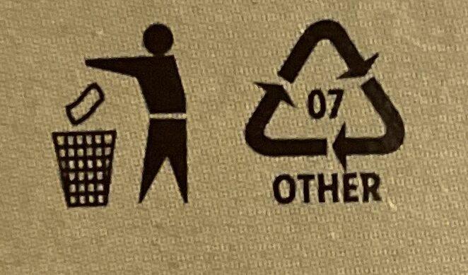 Tofu s bazalkou - Instruction de recyclage et/ou informations d'emballage - cs