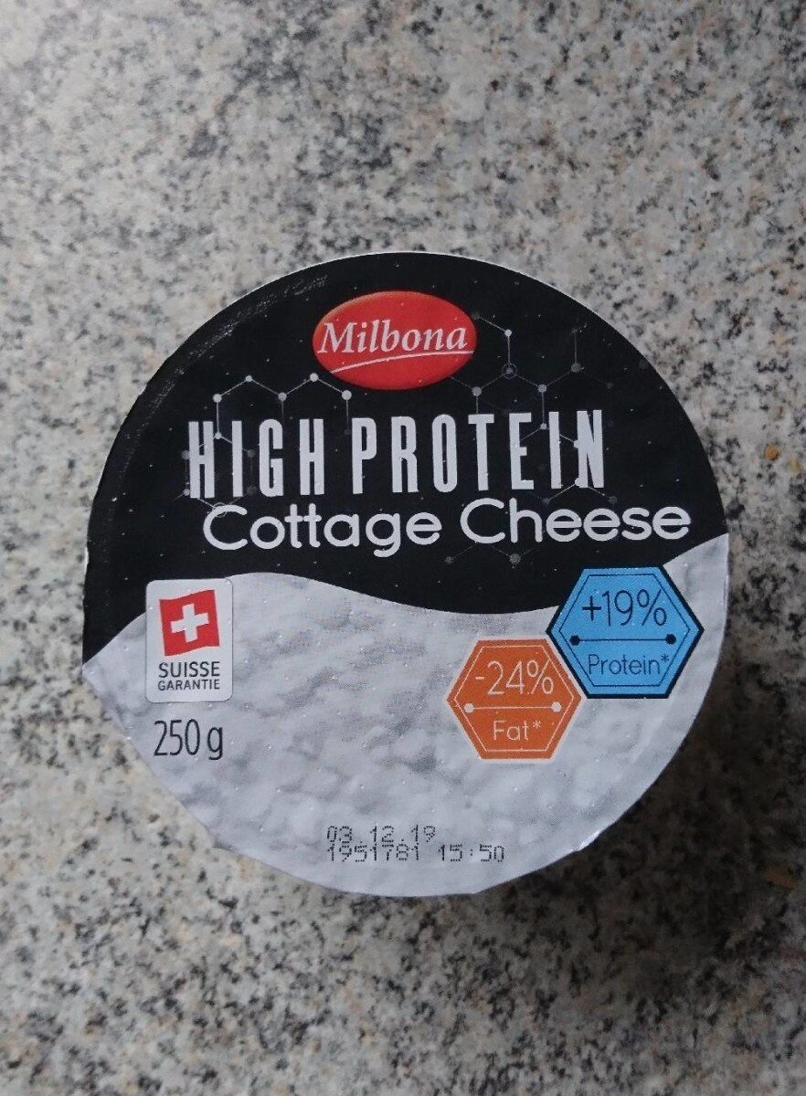 High Protein Cottage cheese - Produit - fr