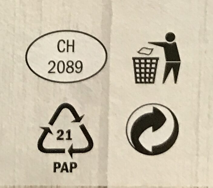 Cheese Fondue - Recycling instructions and/or packaging information - cs