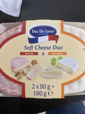 Soft cheese duo - Product - es