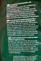 Snack sole - Ingrédients - fr