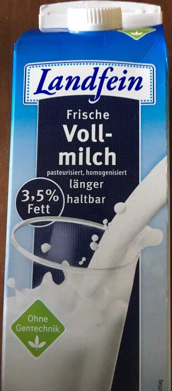 Vollmilch 3,5% - Product