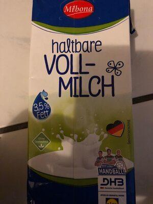 Haltbare Vollmilch Milbona - Produit - en