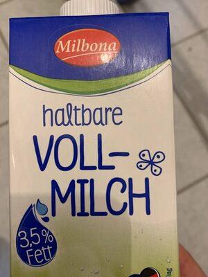 haltbare Vollmilch - Produkt - de