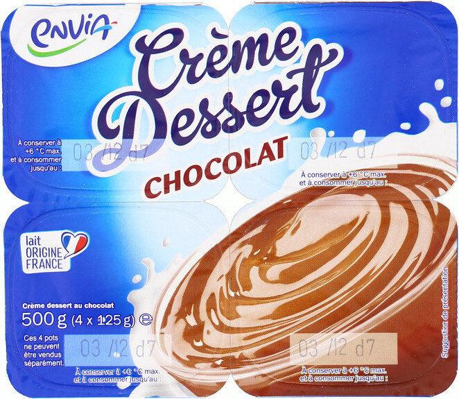 Crème dessert chocolat - Produit - fr