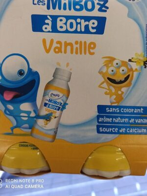 Les Milbo'z à boire vanille - Product - fr
