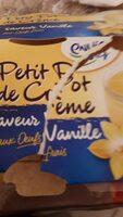 Petit pot de crème - Saveur Vanille - Produit - fr