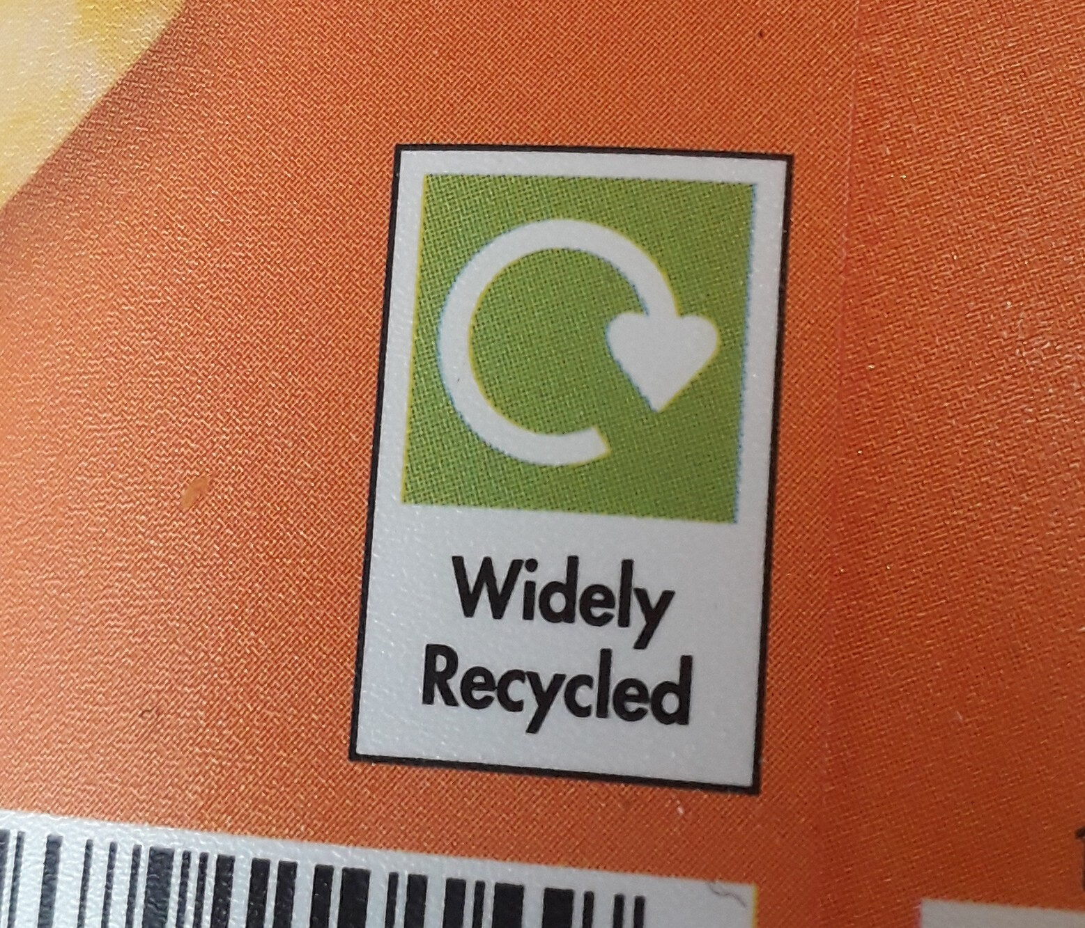 Creamy Peach & Passion Fruit Yogurt - Recycling instructions and/or packaging information - en