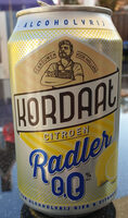 Kordaat Citroen Radler 0.0 - Product - nl