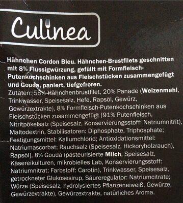 Hähnchen Cordon Bleu - Informations nutritionnelles - de