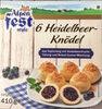 6 Heidelbeer-Knödel - Produit