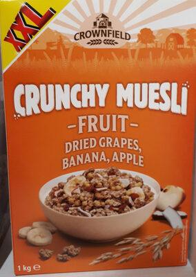 Crunchy Muesli Fruit - Product
