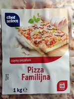 Pizza Familijna z szynką i pieczarkami - Produkt - pl