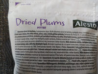 Dried Plums pitted - Product - en