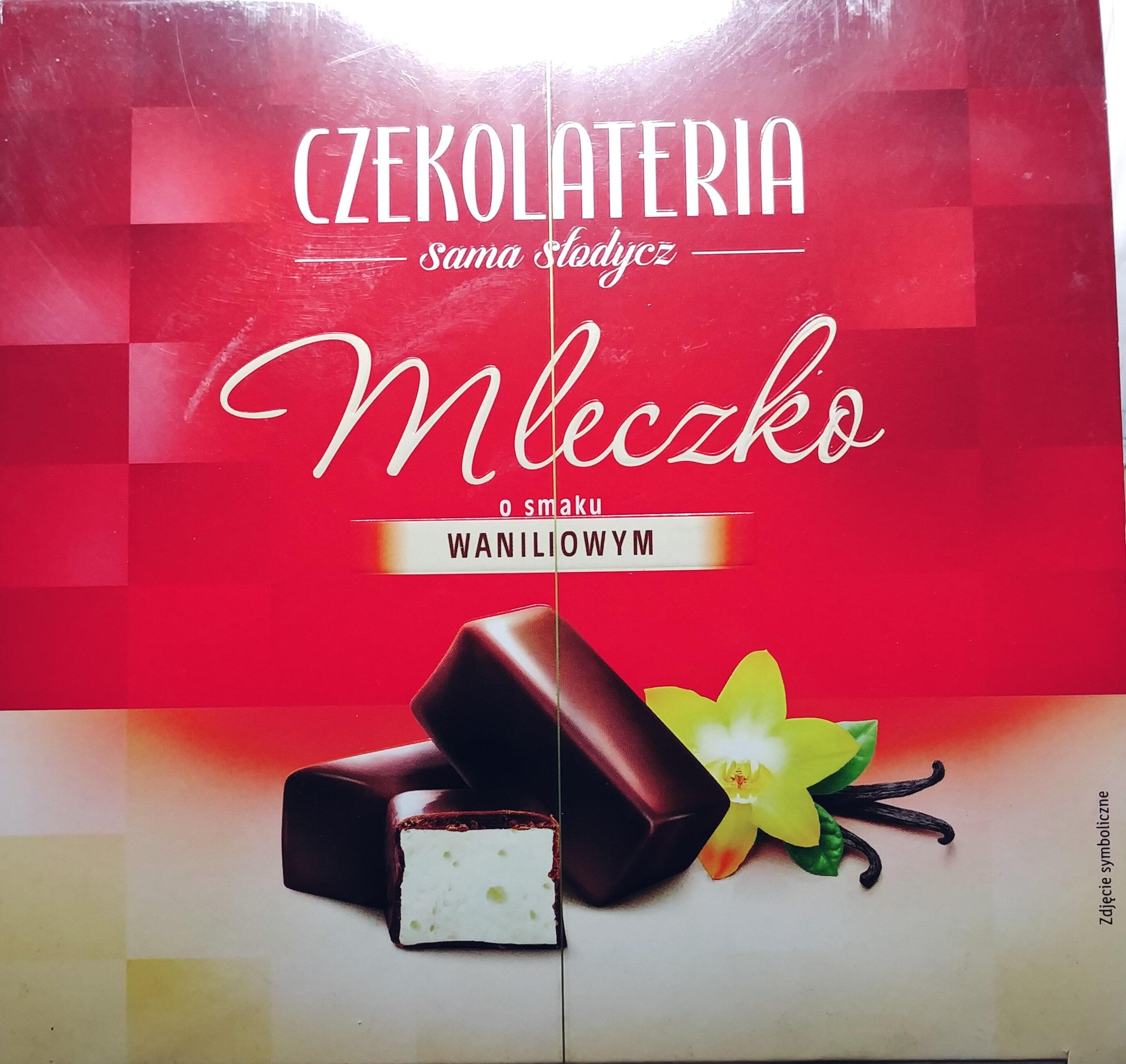 Pianka o smaku waniliowym w czekoladzie deserowej - Produkt - pl