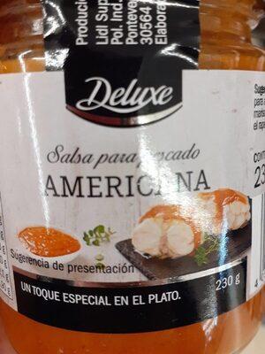 Salsa Americana para pescado