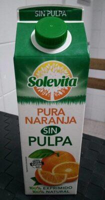 Zumo Naranja sin pulpa - Producto