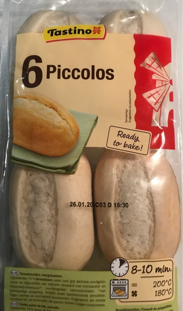 6 Piccolos - Product - fr
