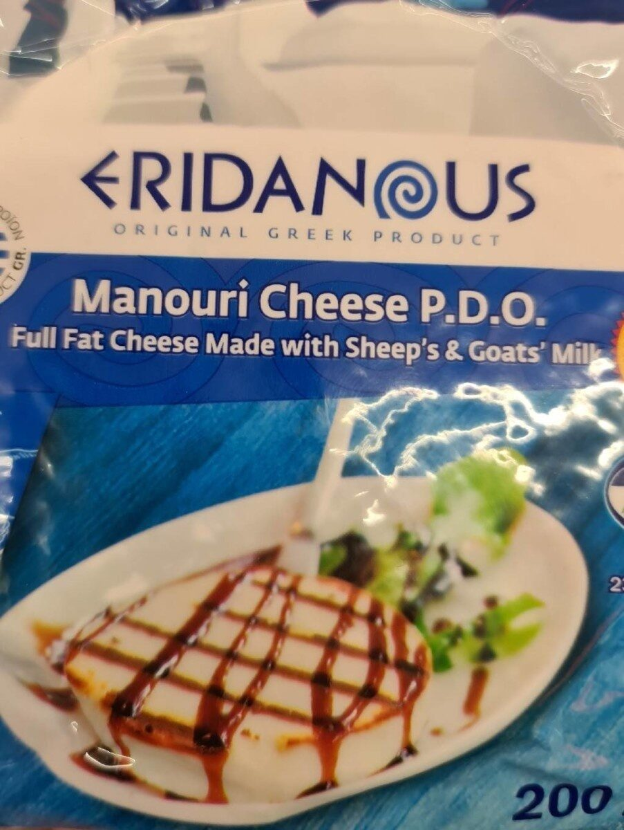 Manouri cheese - Product - en