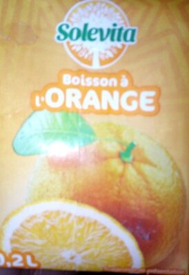 Boisson a l'orange - Product - fr