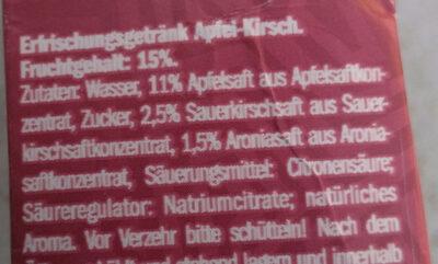 Apfel-Kirsch - Ingredients