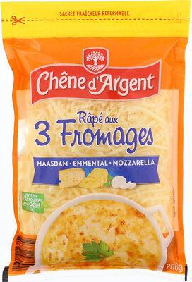 Râpé aux 3 fromages - Produit