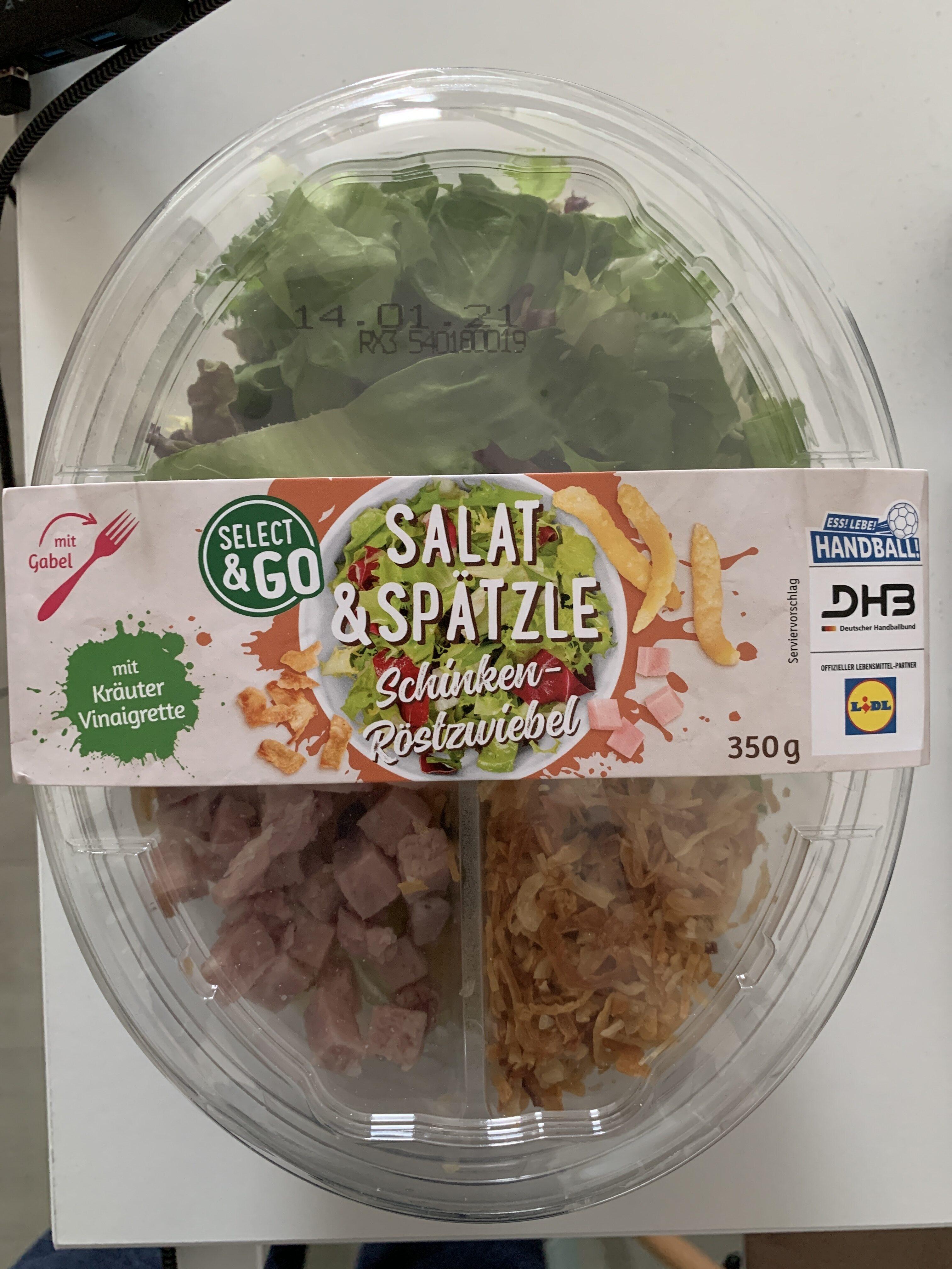 Select&Go Salat & Spätzle Schinken-Röstzwiebel - Product - de