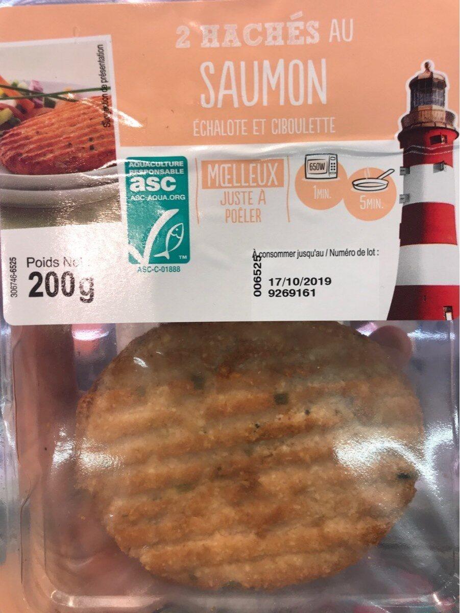 2 hachés au saumon - Product