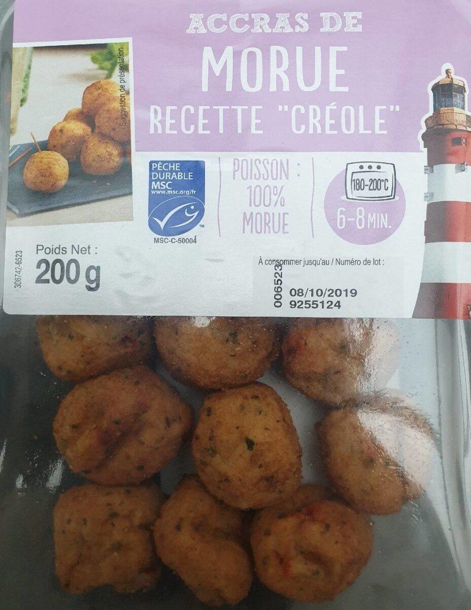 """Accras de morue - Recette """"Creole"""" - Produit - fr"""